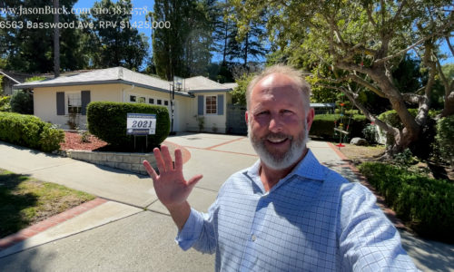 Touring a Beautiful Single Level Home in Palos Verdes